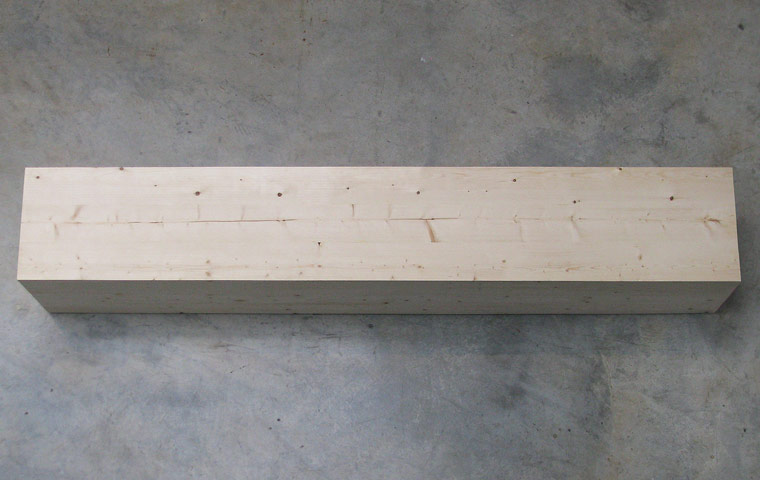 custom modern bench, fir bench