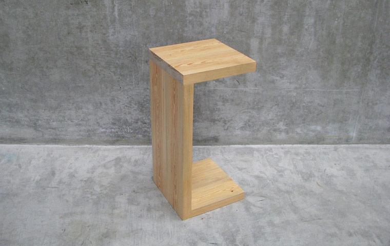 fir modern side table